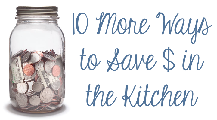 10 More Ways to Save