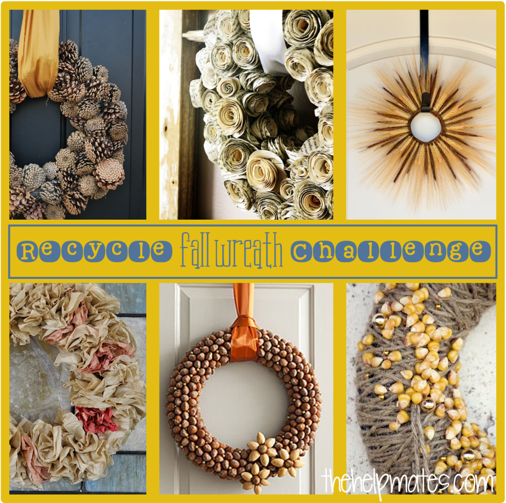 fall wreath challenge
