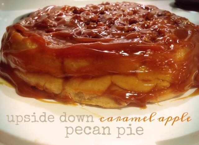 Upside Down Caramel Apple Pecan Pie « The Helpmates