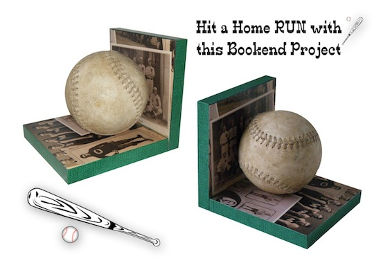 baseballbookends