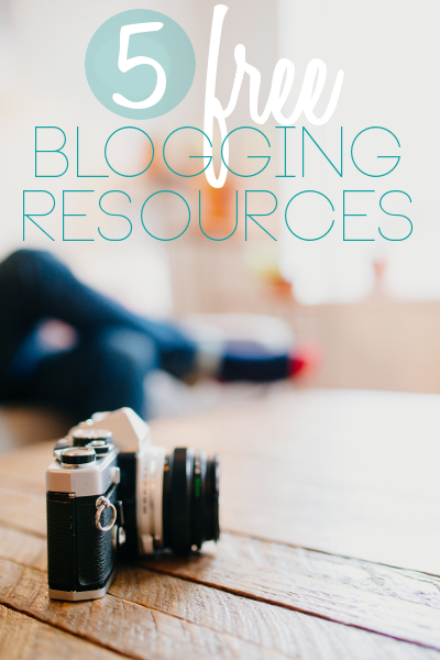 5 free blogging resources