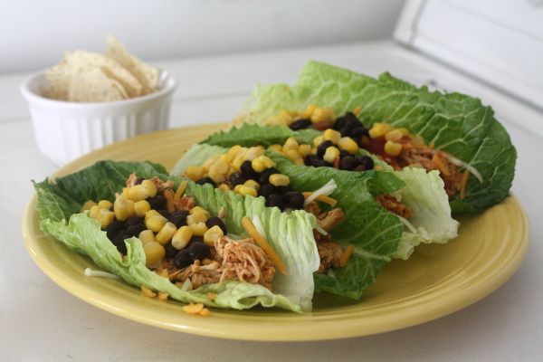 chicken lettuce tacos 4
