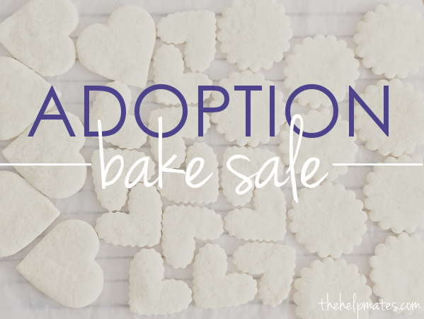adoption bake sale