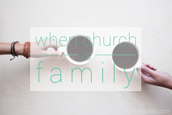 when church is family